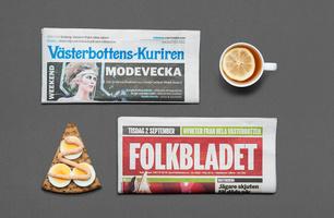 Print VK och Folkbladet
