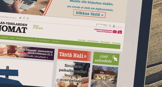 Lempäälän-Vesilahden Sanomat's coverbillede
