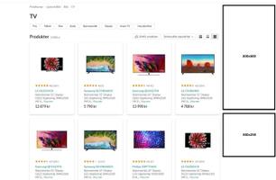 Product listing - Desktop