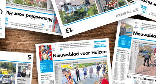 Omslagsbild för Nieuwsblad voor Huizen