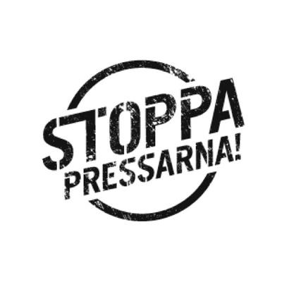 Logotyp för Stoppapressarna.se