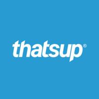 Thatsup's logotype