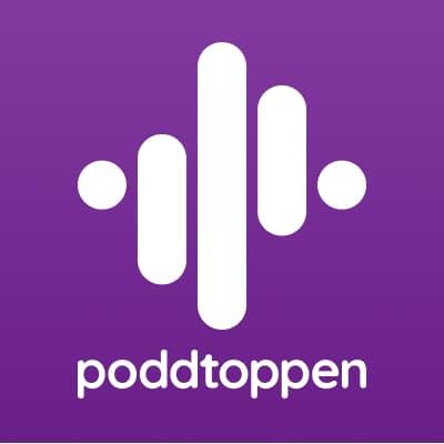 Poddtoppen's logotype