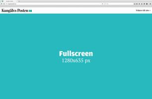 Fullscreen – Desktop