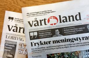 Vårt Land Papir - redaksjonelle sider