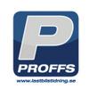 Logotyp för Proffs