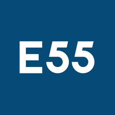 E55's logotype