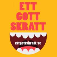 Ett Gott Skratt's logotype