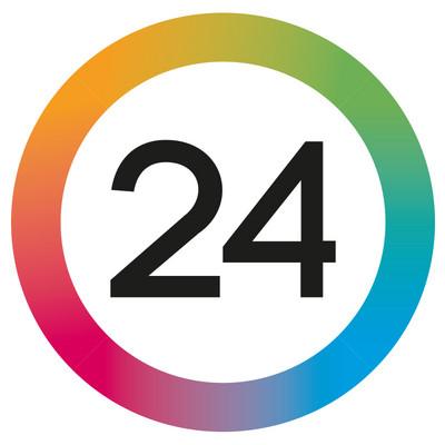 Logotyp för 24 Sverige