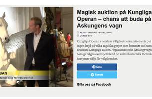 Välgörenhetsauktion på Operan 24 oktober 2018