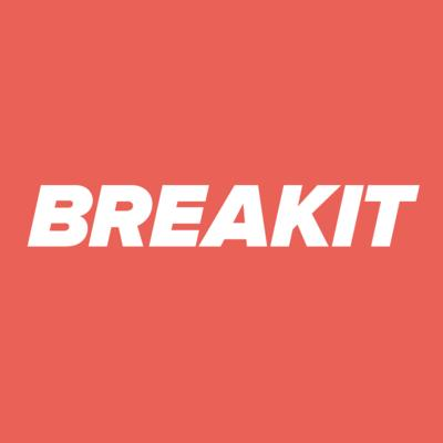 Breakit's logotype