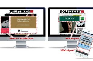 Jobbanner på politiken.dk