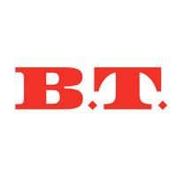 Logotyp för B.T.