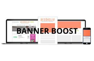 Webbpaketet Banner Boost