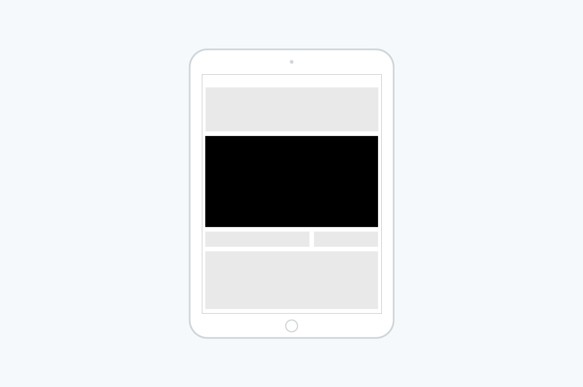 Tablet (kun forside) - Brandboard