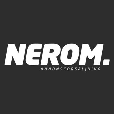 Logotyp för Nerom Annonsförsäljning AB