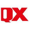 Logotyp för QX