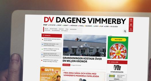 Dagens Vimmerby's cover image