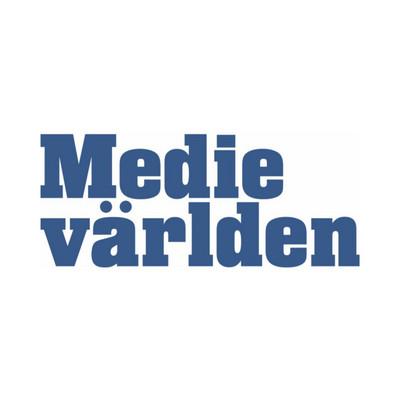 Logotyp för Medievärlden