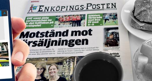 Omslagsbild för Enköpings-Posten