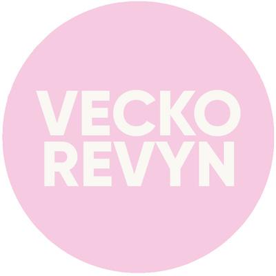 Logotyp för Veckorevyn