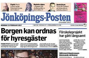 Jönköpings - Posten 2015