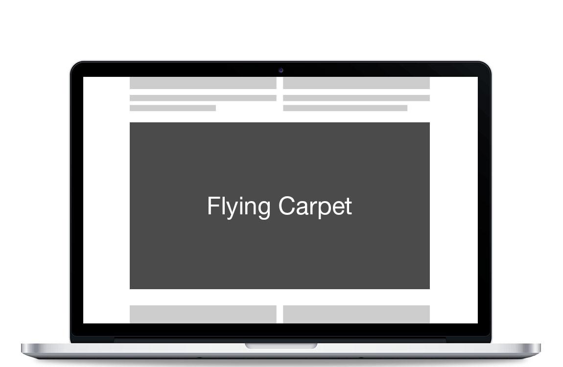 Flying Carpet / Interscroller