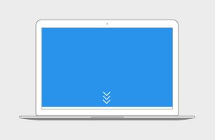 Pushdown (Topscroll) Desktop Bild