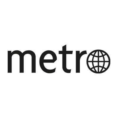 Logotyp för Metro