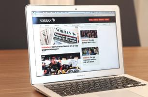 Norran.se - Desktop