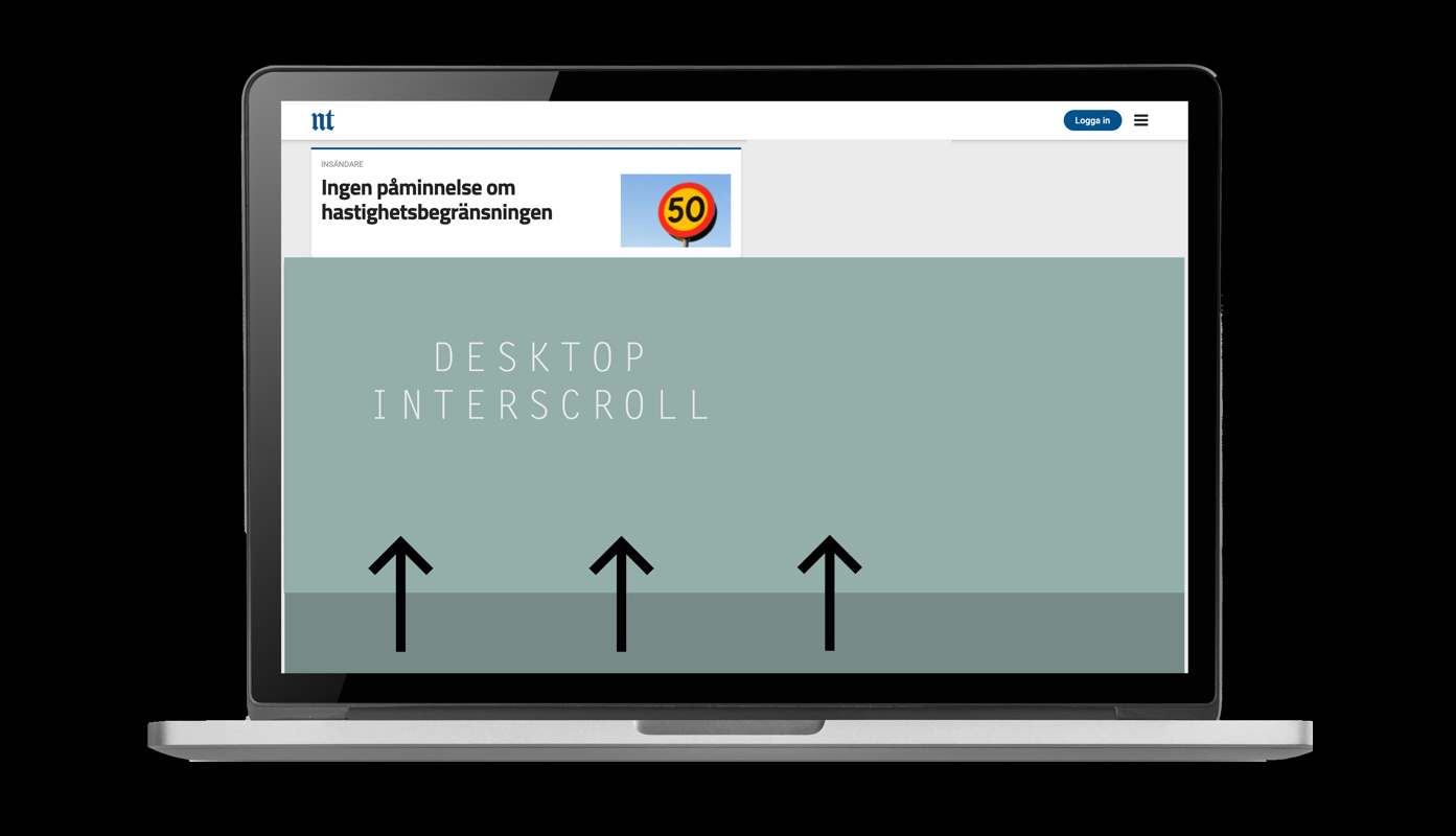 Interscroll - desktop