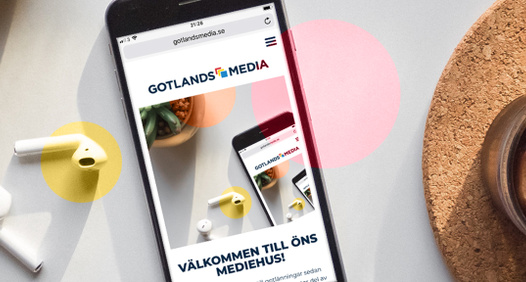 La photo de couverture de Gotlands Media