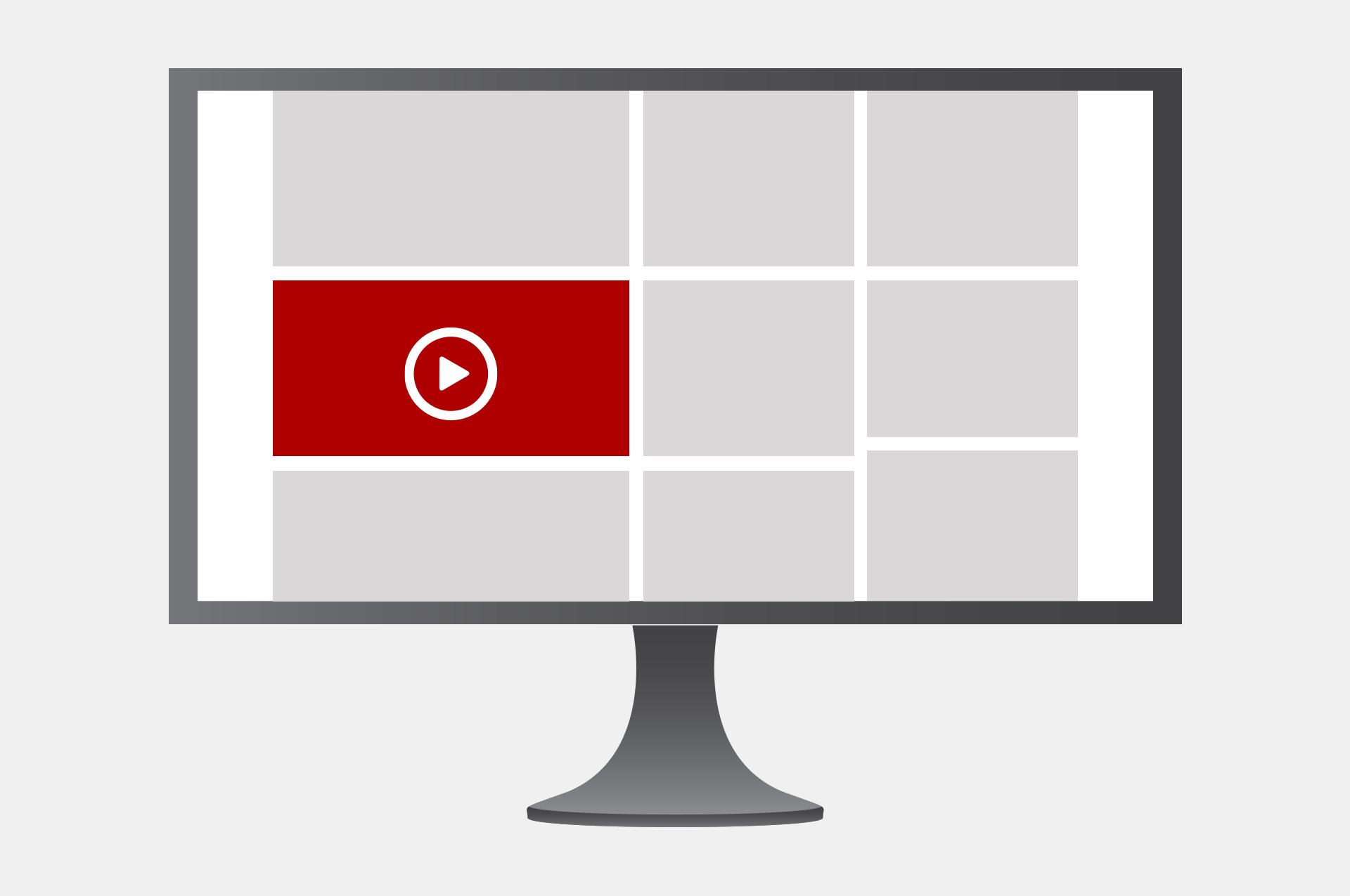 Module video in-banner