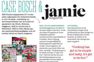 Bosch & Jamie magazine
