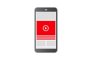 Mobil Content Display Video Studio