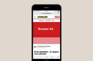 Bumper ad