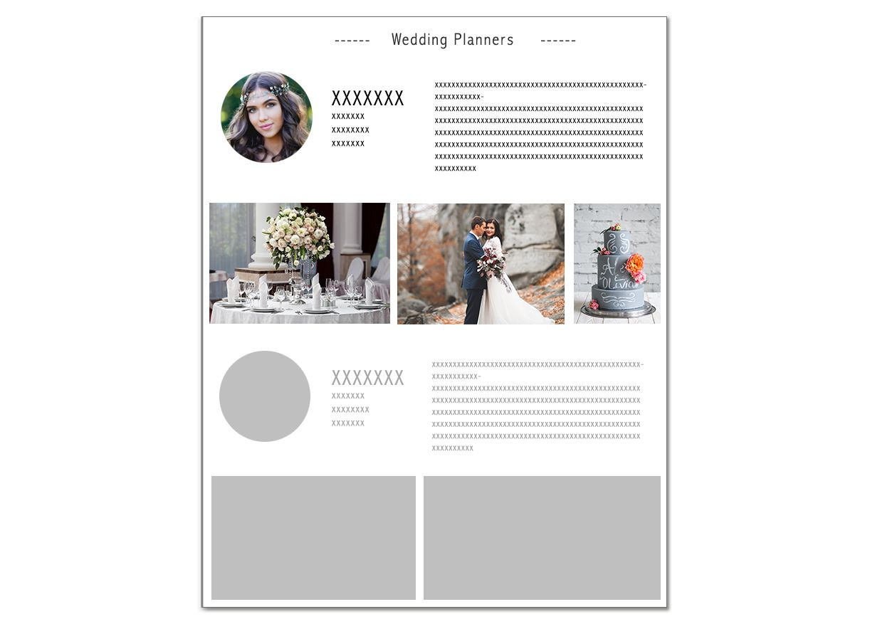 """Special annonce """"Wedding Planner"""""""