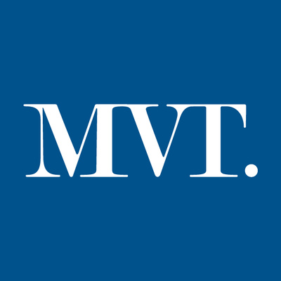 Motala Vadstena Tidning's logotype