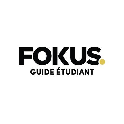 Logotyp för Fokus Guide Étudiant