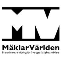 Mäklarvärlden's logotype