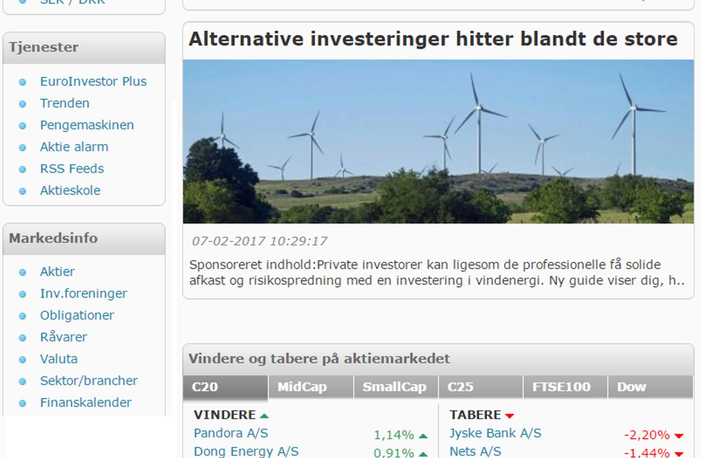 Sponserede artikler på euroinvestor.dk