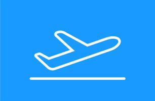 Flyplassreklame Sørkjosen lufthavn