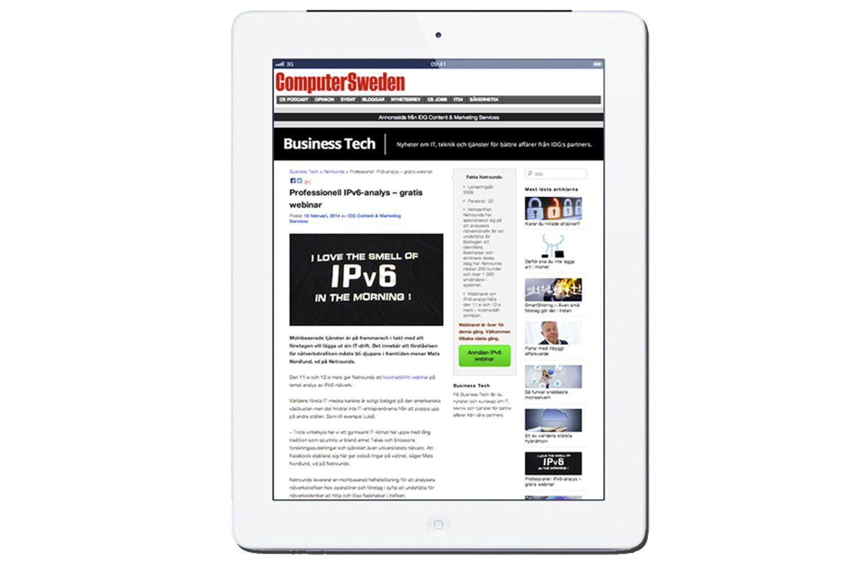 Netrounds IPv6 webinar