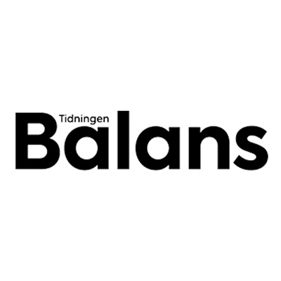 Tidningen Balans's logotype