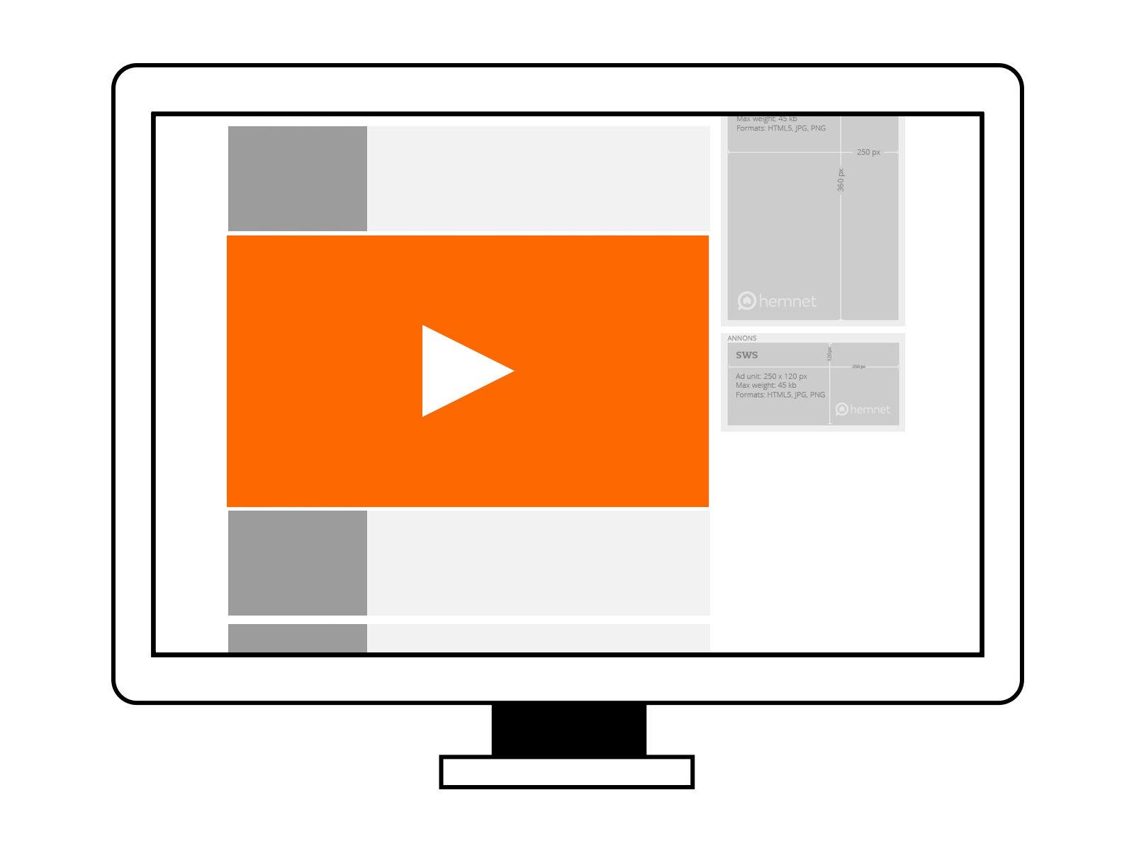 Outstream Videobanner