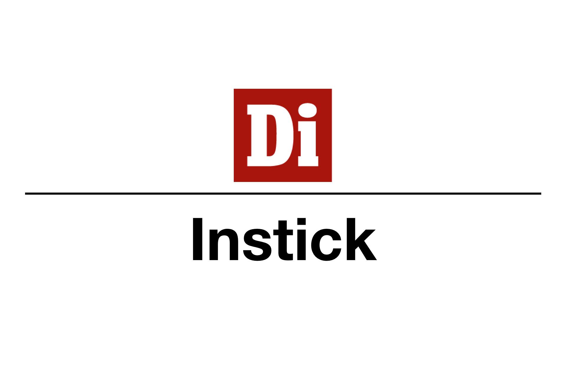 Instick (ibladning av enklare trycksak utan annonser)