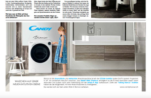 Full Page Brandreport mit Anzeige