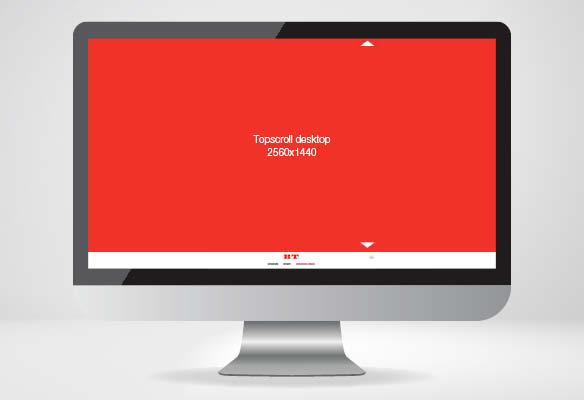 Topscroll - desktop