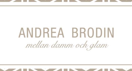 Omslagsbild för Andrea Brodin