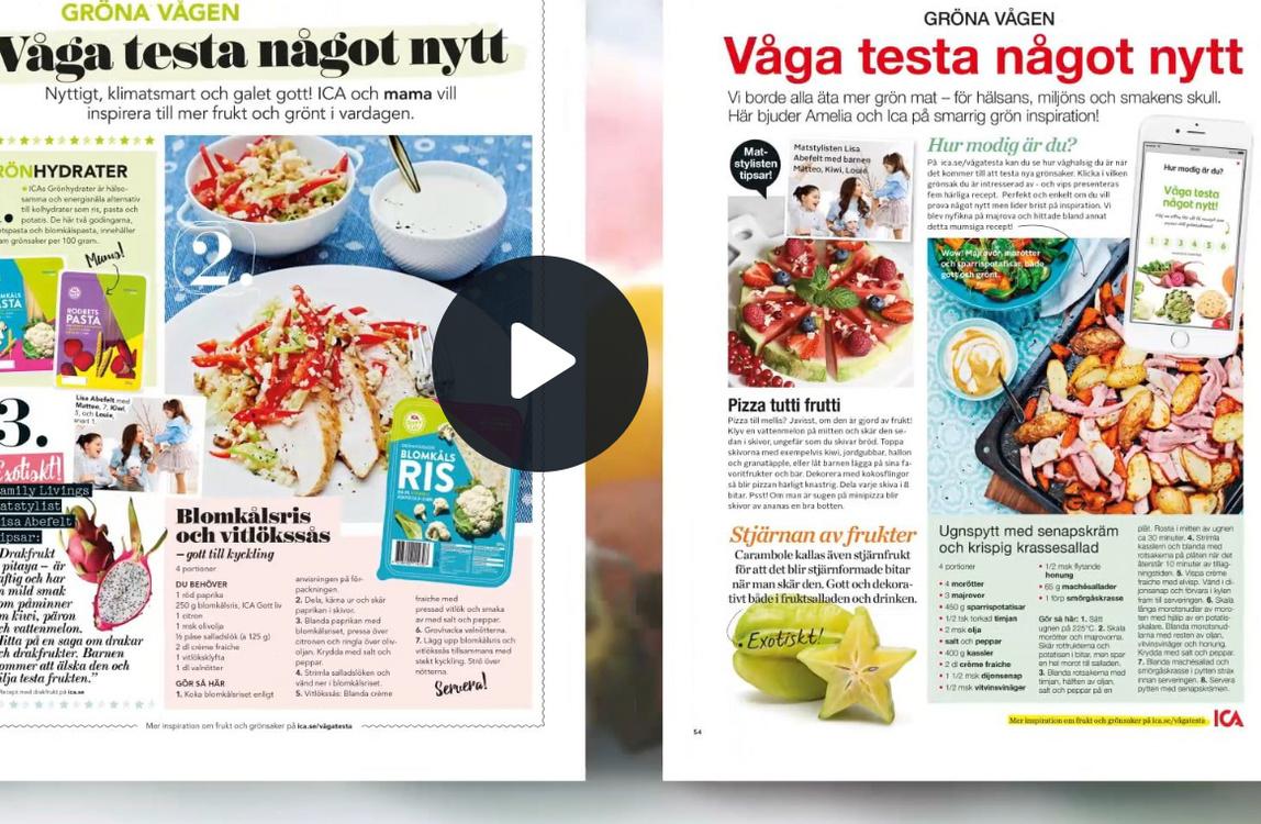 ica recept vegan